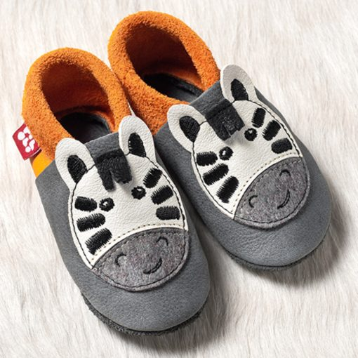 Chaussons en cuir Pololo Taille 24-25