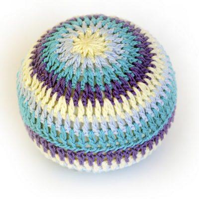 Balles d'éveil en crochet - Bleu - aPunt
