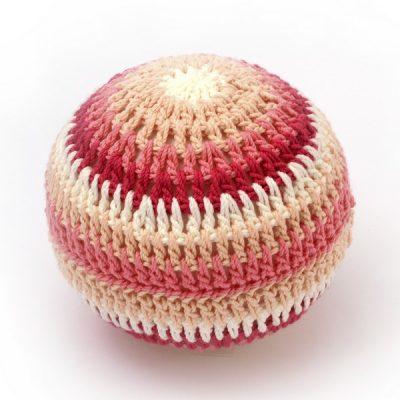 Balles d'éveil en crochet - Rose - aPunt