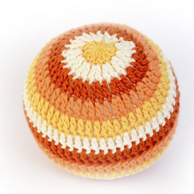 Balles d'éveil en crochet - Orange - aPunt