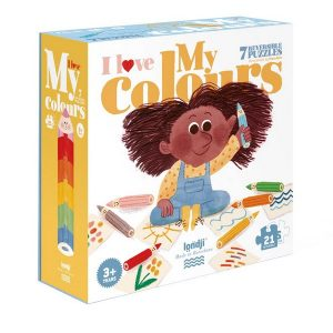I love my colors puzzle- Puzzle - LONDJI
