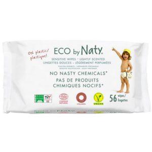 Lingettes Eco légèrement parfumée - NATY
