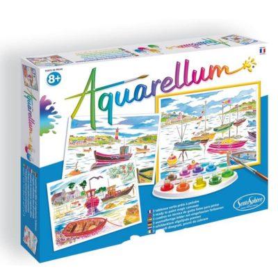 Aquarellum - Ports de pêche - Sentosphère