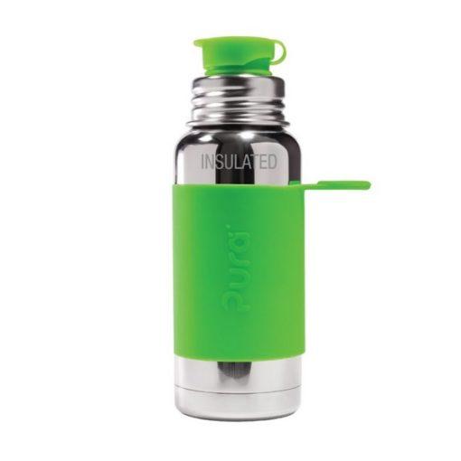 Gourde en inox - Isotherme - Green- 475 ml PURA