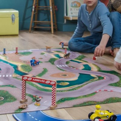 """Tapis de jeu """"Circuit urbain"""" Moyen 120 x 80 cm"""