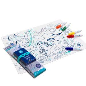 Set de table à colorier - Barrière de Corail