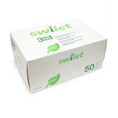 Lingettes Nettoyantes sèches et protège couche - Swilet