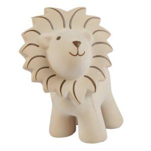 Lion en caoutchouc naturel