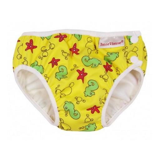 Couche de piscine - Yellow Seahorse - 4-6 kg - Imse Vimse
