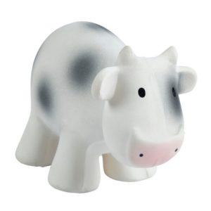 Vache en caoutchouc naturel