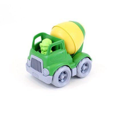 Bétonnière vert/jaune