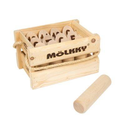 Mölkky original avec caisse en bois