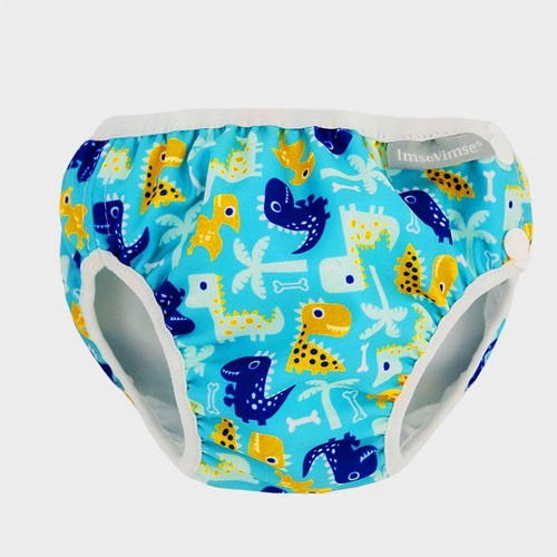 Couche de piscine - Turquoise Dino- 6-8 kg - Imse Vimse