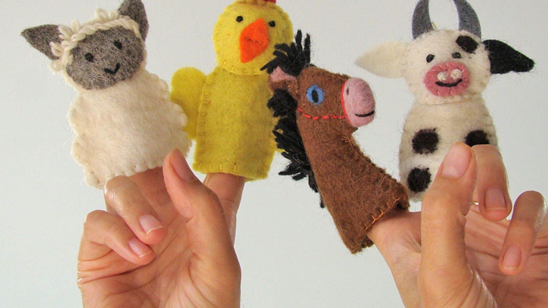 Précommande de jouets Papoose en laine feutrée