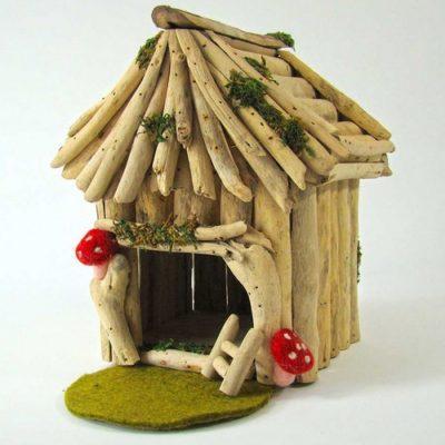 Maison en bois Forêt enchantée