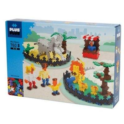 Basic Zoo - 760 pièces - Plus Plus